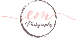 EM Photography Logo Draft, V2